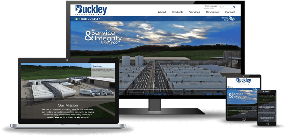 Samples of Our Tulsa Web Design Work Image 3