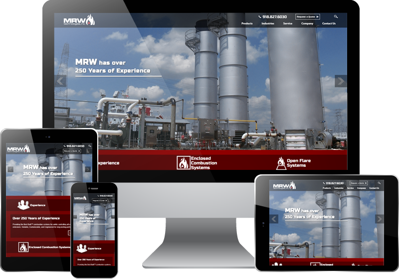 Glenpool Web Design - MRW Technologies